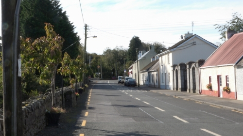 Road going in to Clonaslee
