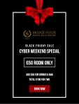 Bridge House Hotel, Tullamore, Black Friday Sale