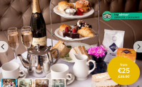 Afternoon Tea for 2 – Old Music Shop Restaurant – Prosecco Upgrade!