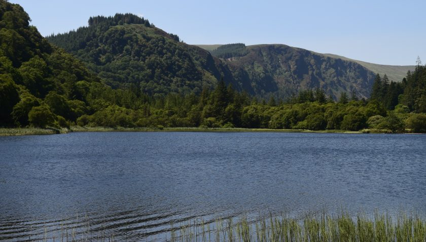 Lower Lake, one of two lakes in Glendalough