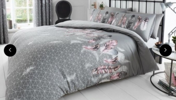 Feathers and Butterfly Duvet Sets