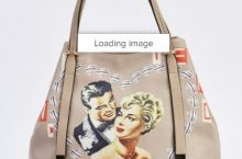 Novelty Print Hobo Bag