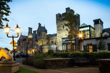 Clontarf Castle Luxury Winter Escape, Breakfast, Wine & 2 Course Dining for 2