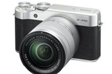 Fujifilm 16534352 X-A10 Compact System Camera with XC16-50 mm Kit – Silver