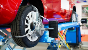 3D wheel alignment, headlight alignment, tyre condition and pressure check-up